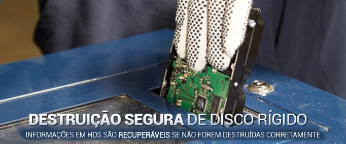 Destruição de HD
